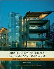 Construction Materials, Methods and Techniques 3th (third) edition Text Only pdf epub