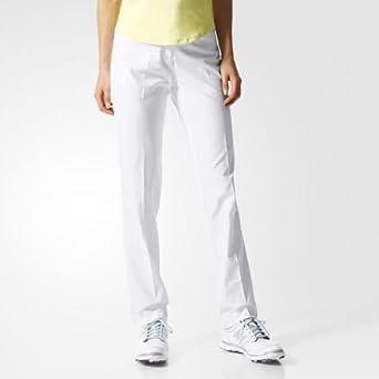 cba8908e95288 Adidas pour femme Essential Longueur complète du Pantalon - Blanc - 42   Amazon.fr  Vêtements et accessoires