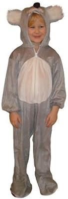 J42 Tamaño 3-4 años traje koala para bebés y niños, cómodo de ...