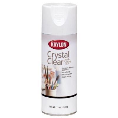 Krylon 1303 11 Oz Crystal Clear Acrylic Coating Spray Paint
