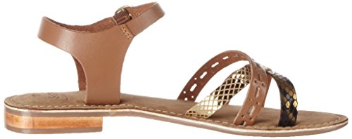 Black Sandalias Sandal gold Mujer Carla Mehrfarbig Gold Tan SPM WSPpfwqTxn