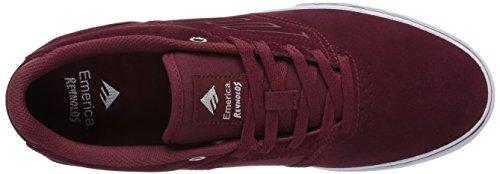Zapatos Emerica The Reynolds Low Vulc Rojo-blanco-Gum Red/white/gum