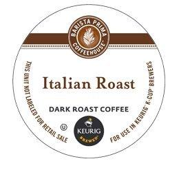 BARISTA PRIMA ITALIAN ROAST K CUP COFFEE 72 COUNT