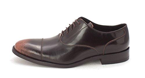 Cole Haan Hombres Oxfords Black/Brown Fade