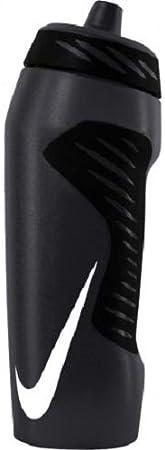 Nike HYPERFUEL Water Bottle 18OZ Botella Fitness y Ejercicio, Adultos Unisex, Antracita/Negro/Blanco, Talla Única