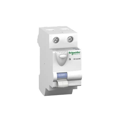 230/V 73/mm Profondeur 40/A AMPS Schneider Electric 16158/Duoline XE Interrupteur diff/érentiel ID Clic Type A hauteur 92/mm 2/p/ôles 36/mm de largeur Blanc
