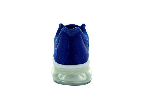 Nike Kids Air Max 2015 (gs) Scarpa Da Corsa Gm Ryl / Gm Ryl / Dp Ryl Bl / White