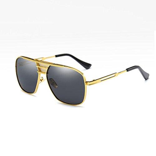 Protección Color Geometría UV400 B Doble Sol HAIYING Vintage Diseño De Para Haz Sol Polarizadas Gafas Sol De Diseño De D De Gafas De Hombre Gafas De Gafas De gwq4nSwzP