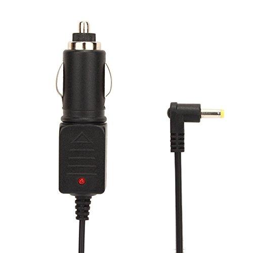 NAVISKAUTO 2,5M Plug Stromkabel Powerkabel Adapter Ladekabel Ladegerät für Zigarettenanzünder Zigarettenbuchse Zigarettenanzünderstecker Geeignet für Auto DVD Player Kopfstützenmonitor Deckenmonitor Universal (Y0160)