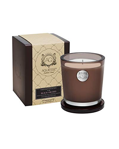 Aquiesse Black Orchid~Large Soy Candle/Gift Box ()