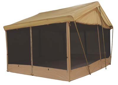 8 AWNING CANVAS SCREEN HOUSE CABIN TENT By Trek Sleeps 9  sc 1 st  Amazon.com : dining tent with rain flaps - memphite.com