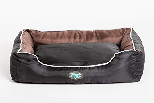 AGUI AG10015 Pet Bed 61 x 48 x 18 cm Black/Brown