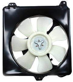 TYC 610450 Toyota RAV4 Replacement Condenser Cooling Fan Assembly by TYC