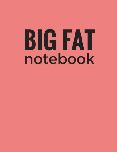 Big Fat Notebook (600 Pages): Light Coral, Extra Large Ruled Blank Notebook, Journal, Diary (8.5 x 11 inches) (Journals