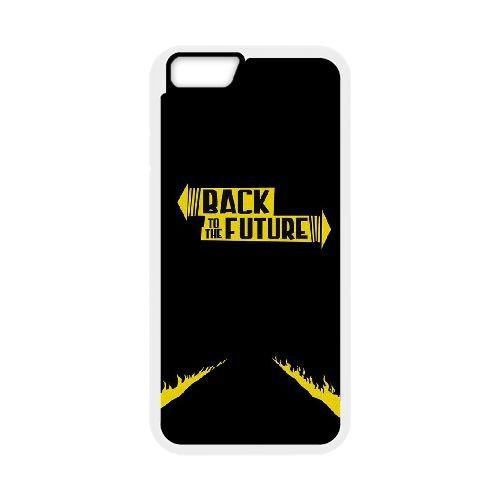 Back To The Future coque iPhone 6 4.7 Inch Housse Blanc téléphone portable couverture de cas coque EBDOBCKCO11029