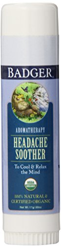 Badger Headache Soother Size .60z Badger Headache Soother Stick .60z