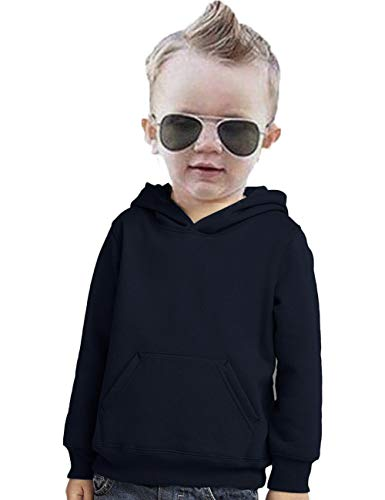 - 1PCs Toddler Infant Boy Girl Outfits Hoodie Sweatshirt Baby Tops Clothes (Navy, 3T)