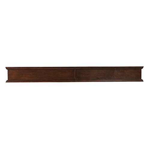 Furniture HotSpot - 72 Inch Mantel Shelf - Whiskey Maple – 72