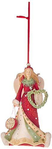 Enesco Heart of Christmas Deck The Halls Hanging Ornament, 4.13