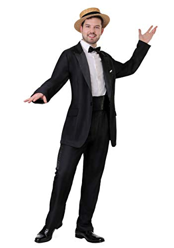 Men's I Love Lucy Ricky Ricardo Costume Large Black]()