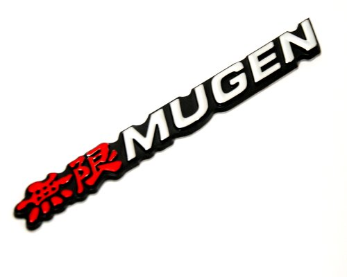 (Honda Mugen 3d Logo Sign Emblem Decal Civic Accord Integra City Fit Jazz)
