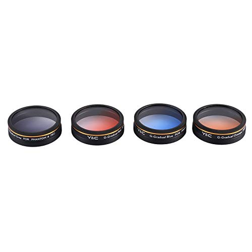 Wikiwand Lens Filters for Phantom 4 PRO Filter Kit Y & C Drone Quadcopter Accessories by Wikiwand (Image #3)