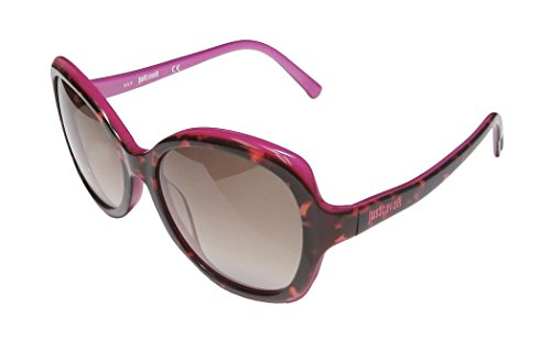 Just Cavalli Women's JC561S5756F Round Sunglasses,Havana,57 mm