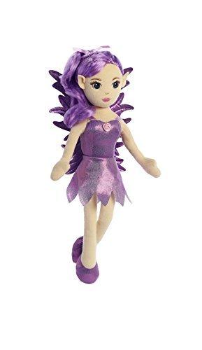 Plush Fairy Doll (Aurora World Fairy Doll Lilac Plush)