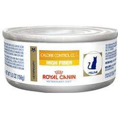 Royal Canin Veterinary Diet Calorie Control CC High Fiber Formula Canned Cat Food 24/6 oz