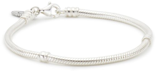 "Pandora Sterling Bracelet 7.5"" with Lobster Claw Clasp"