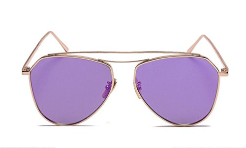 GAMT Classic Metal Double Bridge Aviator Style Polarized Lense - Sunglasses Original Cartier