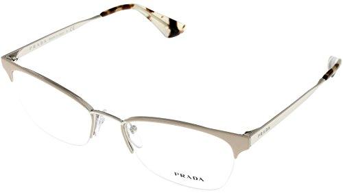 Prada Prescription Eyewear Frames Womens Creamy Beige PR65QV - Frames Cheap Prada