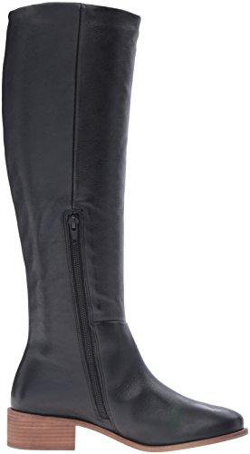 Corso Como Kvinners Garnison Riding Boot Sort Ramlet Lær