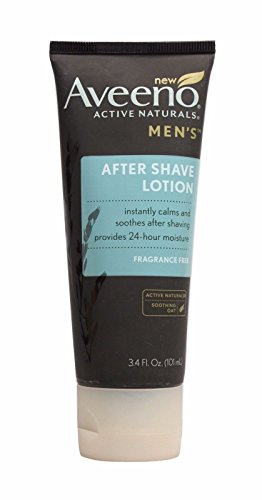 Aveeno Active Naturals Men's After Shave Lotion, 3.4oz (Pack - Import It All