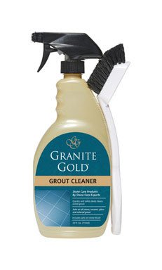 Granite Gold GG0371 Grout Cleaner & Brush, 24-oz. - Quantity 6 by Granite Gold