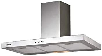Edesa ECB-6411 X 400 m³/h De pared Acero inoxidable C - Campana (400 m³/h, Canalizado/Recirculación, E, E, D, 62 dB): Amazon.es: Hogar