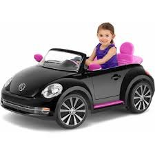 VW Beetle Convertible 12-Volt Battery-Powered Ride-On by Kid Trax