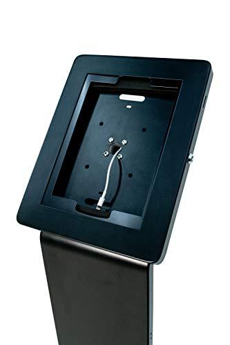 CTA Digital PAD-PARAF Premium Locking Floor Stand Kiosk for 11-inch iPad Pro/Air/Gen. 5-6 / Pro 10.5 / Galaxy Tab A 9.7'' / S2 9.7'' / 3 10.1'' / 4 10.1'' by CTA Digital (Image #2)