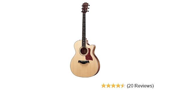 0736c8d796f Amazon.com: Taylor Guitars 414ce Grand Auditorium Acoustic Electric Guitar:  Musical Instruments