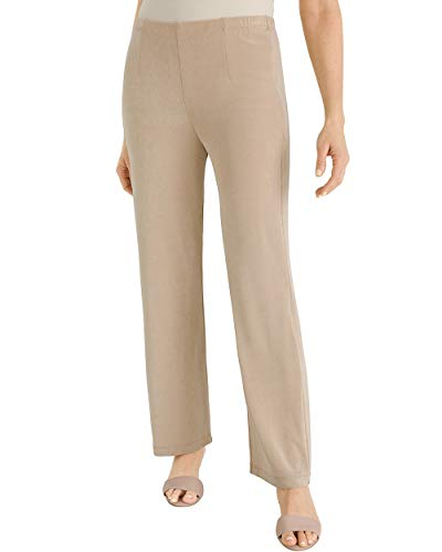 - Chico's Women's Travelers Classic No Tummy Pants Size 4 S (0 Tall) Tan
