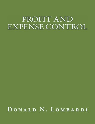 Download Profit and Expense Control ebook
