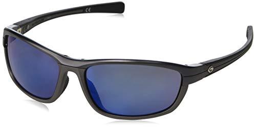- Gargoyles Kinser Sunglasses, Dark Gun/Smoke/Blue Mirror