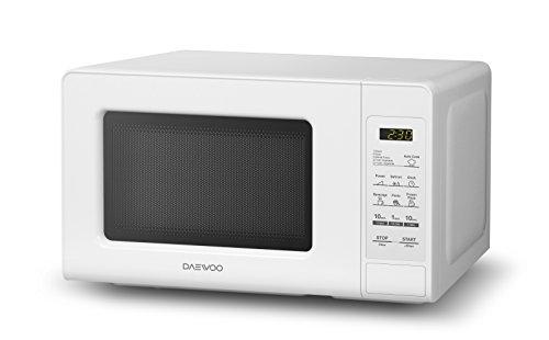 Daewoo KOR-760EW Countertop Microwave Oven 0.7 Cu. Ft., 700W