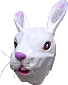 Alice In Costume Wonderland Lapin - White Rabbit Overhead