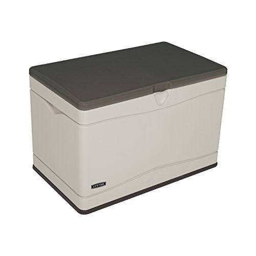 - Lifetime 60103 Deck Storage Box, 80 Gallon
