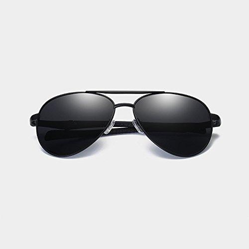 Gafas De Sol Grandes Clásicas Para Hombres De Sol Gafas Sol Silver Polarizadas Brown Gafas De Para YaxwY0Arq