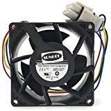 - V80E14MS2A3-57A611 DC 13.6V 0.16A 4wire 80x80x38mm Server Square Cooler fan