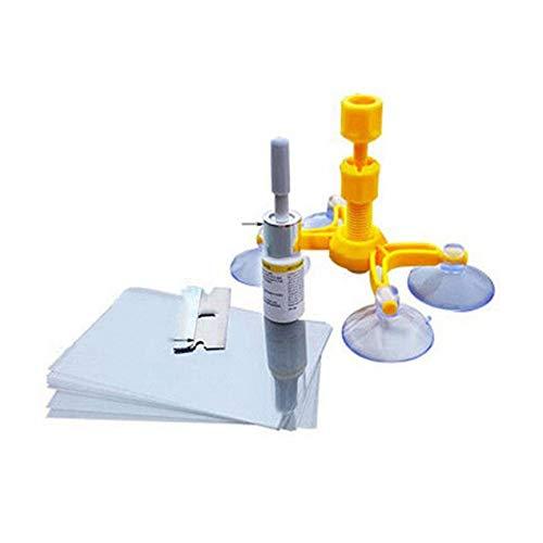 VCB DIY Windshield Repair Kits Glaskratzer Wiederherstellen Risse Chips Repair Tools orange