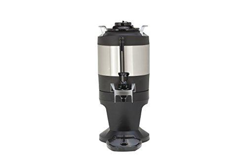 Wilbur Curtis Thermal Dispenser 1.0 Gallon Dispenser With Stylized Base - Coffee Dispenser - TXSG0101S600 (1 Gallon Thermal Dispenser)
