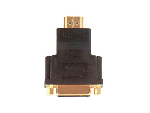 Monoprice 102080 HDMI Male to DVI-D Single Link Female Adapter (102080)